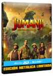 Jumanji : Bienvenidos A La Jungla (Blu-Ray 3d + Blu-Ray) (Ed. Metálica)