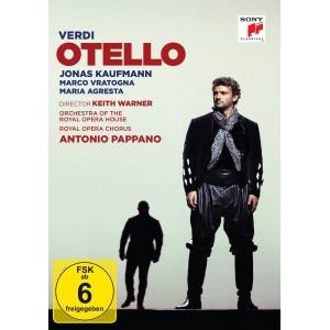 Verdi: Otello (Jonas Kaufmann) DVD
