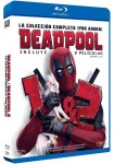 Pack Deadpool 1 + Deadpool 2 (Blu-Ray)
