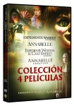 Conjuring: Annabelle 1+2 + Expediente Warren 1+2