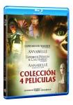 Conjuring: Annabelle 1+2 + Expediente Warren 1+2 (Blu-Ray)