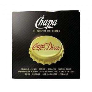 """Chapa """"El Disco de Oro"""" (CD)"""