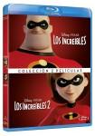 Los Increibles 1 + Los Increibles 2 (Blu-Ray)