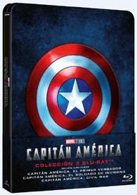 Capitán America : Trilogía (Blu-Ray) (Ed. Metálica)