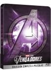 Pack Tetralogía Los Vengadores: 1 a 4 (Blu-Ray) (Ed. Metálica)