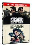 Pack: Sicario 1 + Sicario : Day of the Soldado