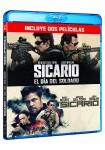Pack: Sicario 1 + Sicario : El Día Del Soldado (Blu-Ray)