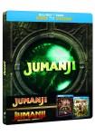 Jumanji (1995) + Jumanji : Bienvenidos A La Jungla (Blu-Ray) (Ed. Metálica)