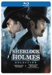 Sherlock Holmes + Sherlock Holmes : Juego de Sombras (Blu-Ray) (Ed. Black Metal)