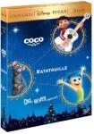 Pack Coco + Ratatouille + Del Revés