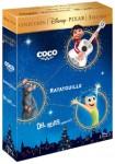 Pack Coco + Ratatouille + Del Revés (Blu-Ray)