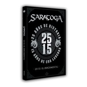 "Saratoga ""25/15, El Documental DVD"