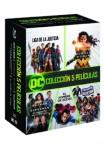 Dc Colección 5 Películas (2013-2017) (Blu-Ray)