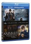 Animales Fantasticos y donde Encontrarlos + Los Crímenes De Grindelwald (Blu-Ray)