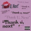 Thank U, Next (Ariana Grande) CD