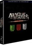 Ataque A Los Titanes : Las Películas (1ª A 3ª Parte) (Blu-Ray)