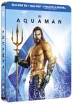 Aquaman (Blu-Ray 3d+ 2d) (Ed. Metálica)**