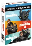 Pack Cómo Entrenar A Tu Dragon - 1 a 3 (Blu-Ray)