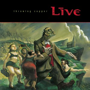 Throwing Copper (Live) (CD)