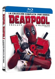 Deadpool 1 + Deadpool 2 (Blu-Ray) (Ed. Black Metal)