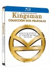 Pack Kingsman: Servicio Secreto + Circulo Oro (Blu-Ray) (Ed. Black Metal)