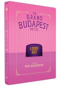 El Gran Hotel Budapest (Blu-Ray) (Ed. Metálica)