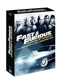 Pack Fast & Furious 1 a 8 + Hobbs & Shaw