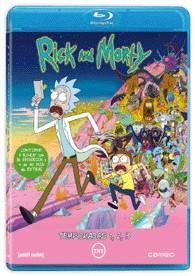 Rick And Morty (1ª A 3ª Temporada) (Blu-Ray)