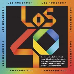 Los Nº 1 de 40 Principales (2019) CD(2)