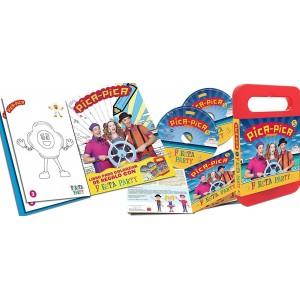 Fiesta Party (Pica-Pica) (CD + DVD + Cuaderno para colorear)