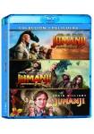 Pack Jumanji (Jumanji 1995 + Bienvenidos a la Junga + Siguiente Nivel) (Blu-Ray)