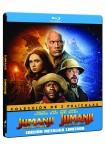 Pack Jumanji: Bienvenidos a la jungla + Jumanji: El siguiente nivel (Blu-Ray - Edición Metálica)