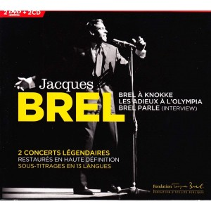 En Concert (Jacques Brel) 2 CD+ 2 DVD