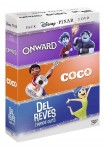 Pack Disney Pixar: Onward + Coco + Del Revés (Inside Out)