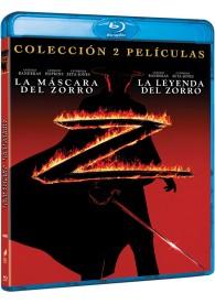Pack La Máscara Del Zorro + La Leyenda Del Zorro (Blu-ray)