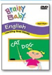 BRAINY BABY ENGLISH - DVD