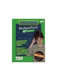 REFUERZO ESCOLAR - MATEMÁTICAS 6º PRIMARIA CD-ROM