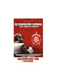 Pack Revolución Cubana (7 DVD) + 1 CD de regalo