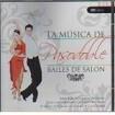 Bailes de salón la música de pasodoble CD