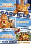 Pack Garfield : La Película + Garfield 2 + Garfield en la Vida Real + Así es Garfield