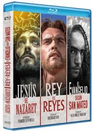 Jesús de Nazaret + Rey de Reyes + El Evangelio Según San Mateo (Blu-ray)