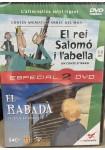 REI SALOMO I L'ABELLA, EL [2 DVD] + EL RABADA (5-8 ANYS)