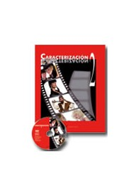 CARACTERIZACIÓN 2: Diseño de personajes, Efectos especiales en maquillaje. DVD+Libro