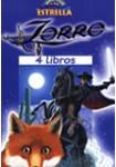 El Zorro, 4 libros