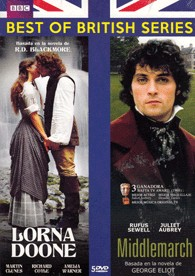 Pack Lorna Doone + Middlemarch