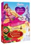 Pack Barbie y el Castillo de Diamantes + Barbie en un Cuento de Navidad