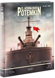 El Acorazado Potemkin (Edición Libro Blu-ray)