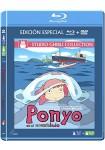 Ponyo En El Acantilado (Blu-Ray + DVD)