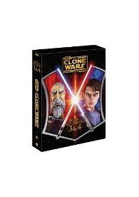 Pack Star Wars : The Clone Wars - Temporada 1 - Vol. 3 + 4