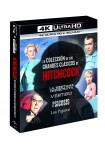 Pack Alfred Hitchcock Classics Collection (4 Películas) (Psicosis, Vértigo, La Ventana Indiscreta, Los Pajaros) (4K UHD + BD